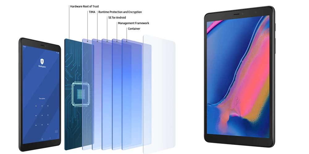 تبلت سامسونگ مدل Galaxy Tab A 8.0 2019 LTE SM-P205 ظرفیت 32 گیگابایت