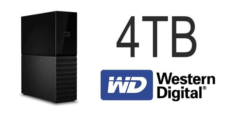 هارددیسک اکسترنال وسترن دیجیتال مدل My Book Desktop ظرفیت 4 ترابایت