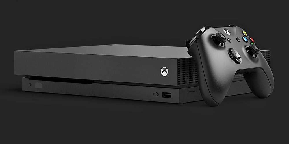 کنسول بازی مایکروسافت مدل Xbox One X ظرفیت 1 ترابایت+بازی